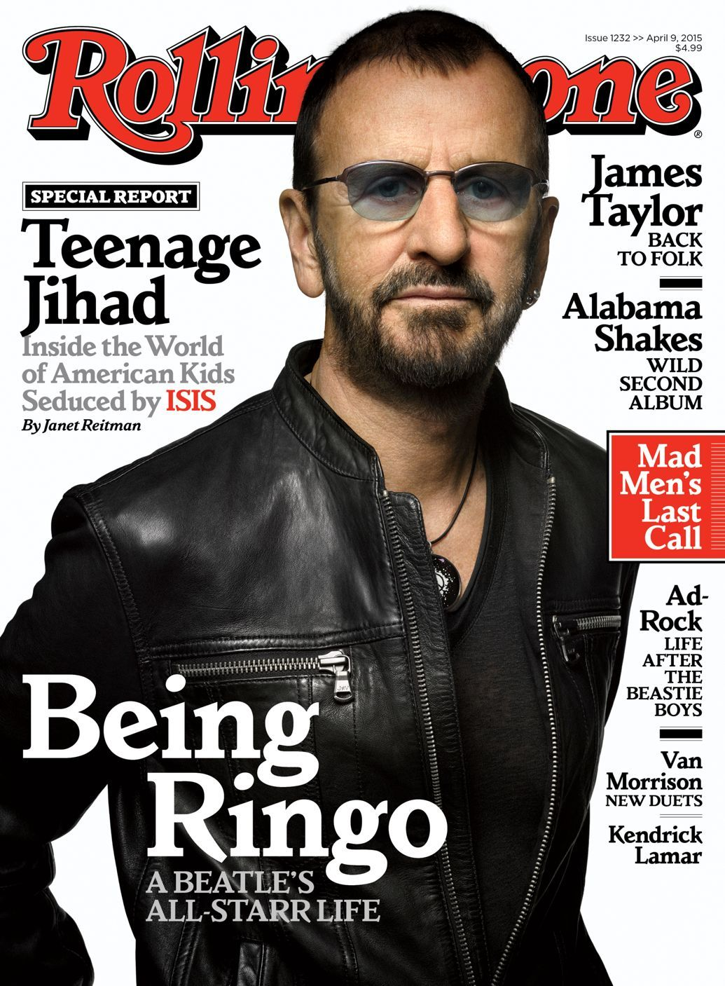 Ringos All Starr Life Inside Rolling Stones New Issue Rock Icon Looks Back On The Beatles And Ahead To His Roll Hall Of Fame Induction In Our