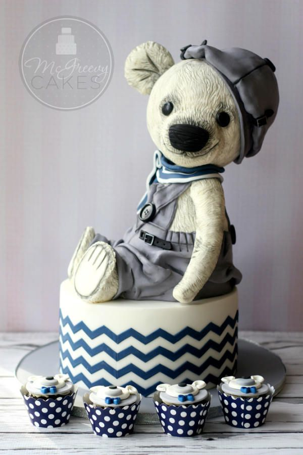 Teddy Bear Cake - Cake by Shawna McGreevy