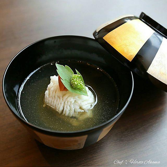 Clear soup (Suimono)