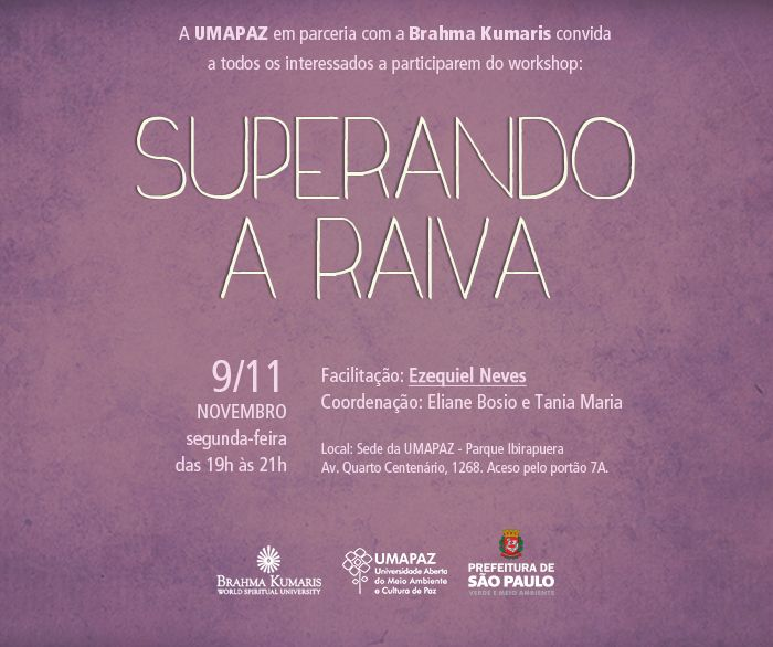 Workshop: Superando a Raiva - Blog da UMAPAZ