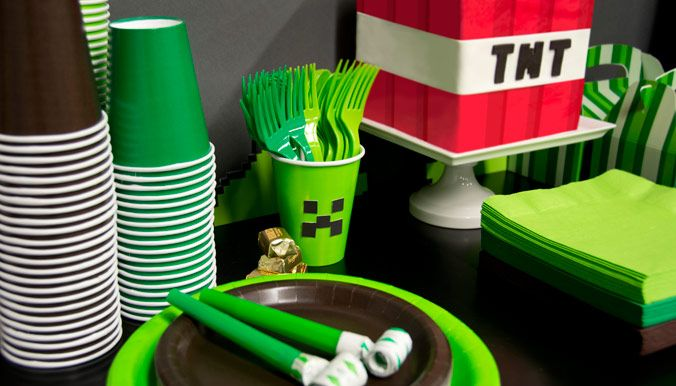 Minecraft Party Ideas Diy stuff and Craft
