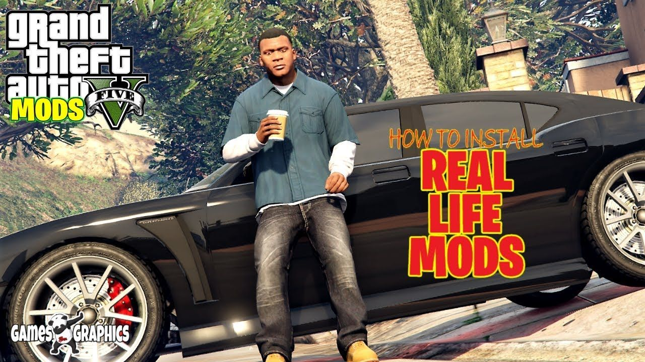 How to Install Real Life Mod 2 (2020) GTA 5 MODS in 2020