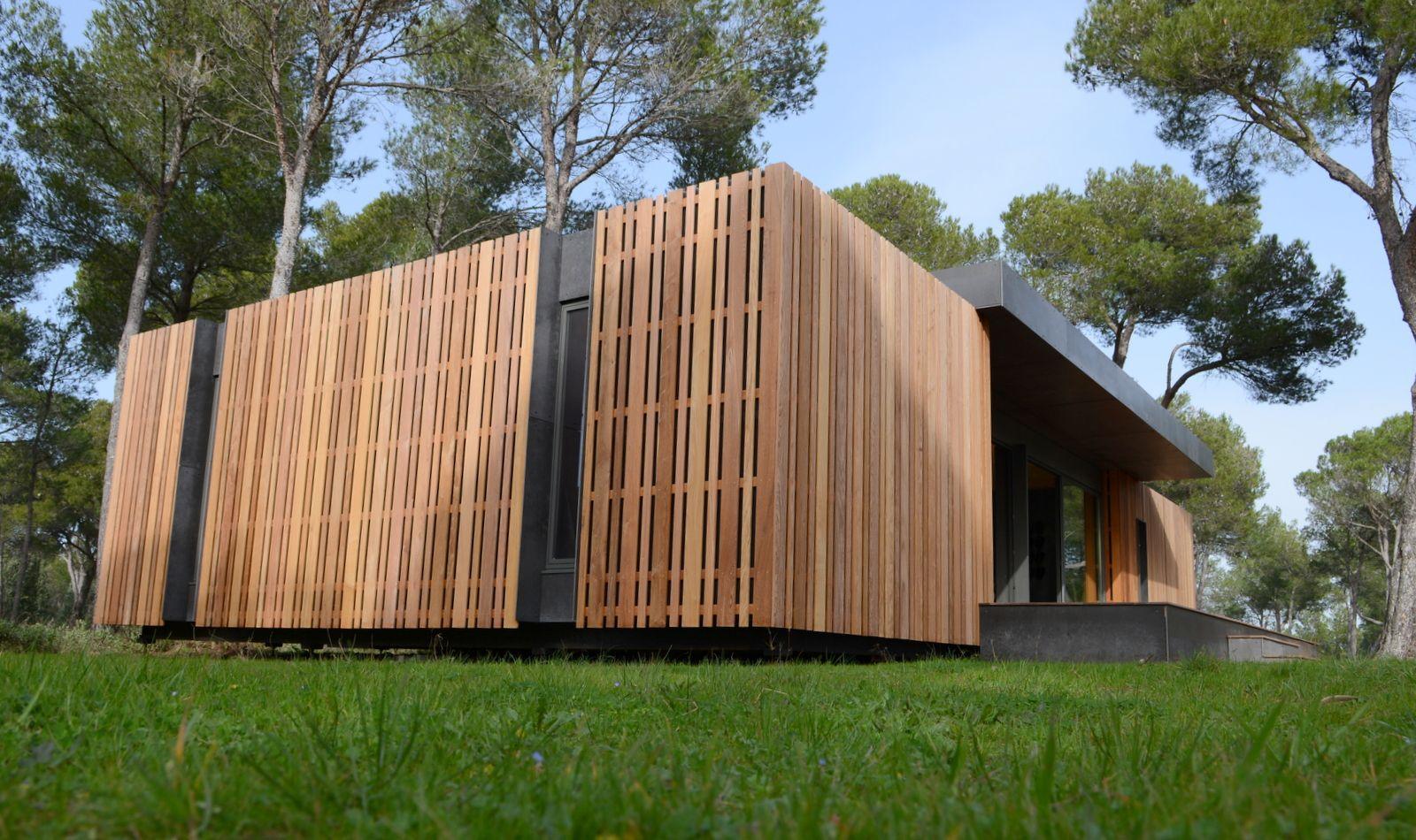 maison bois 4 jours