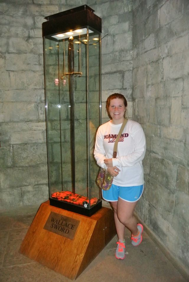 William Wallace's Sword - Literally as big as I am