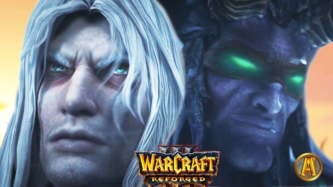Arthas Vs Illidan Cinematic Final Battle Warcraft 3 Reforged