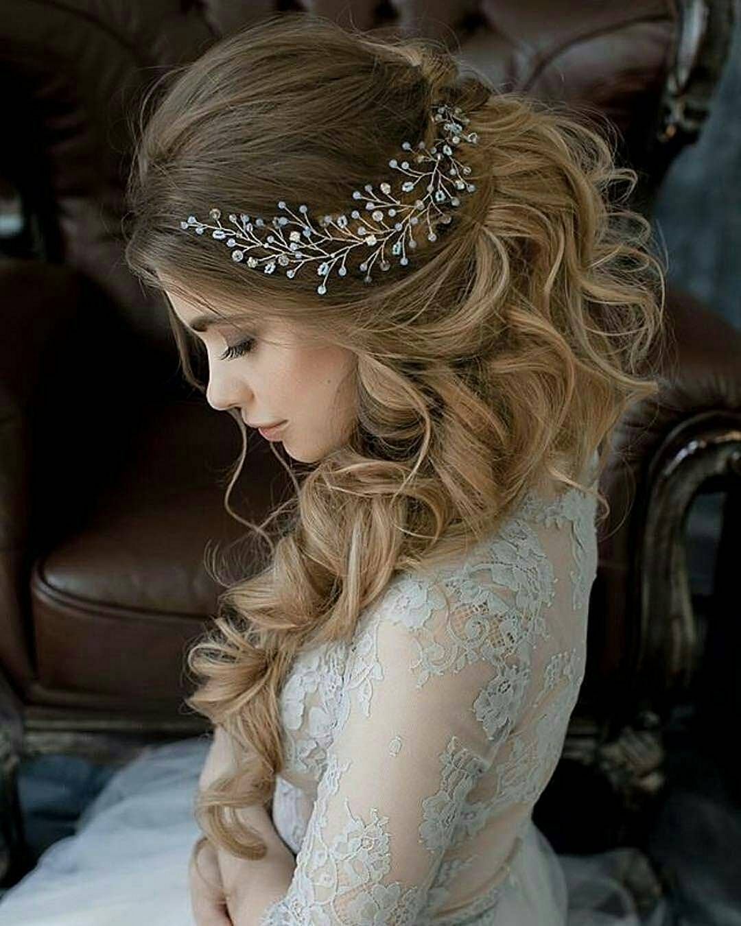 30 Awesome Wedding Hairstyles For Long Hair Ideas Rustic Wedding