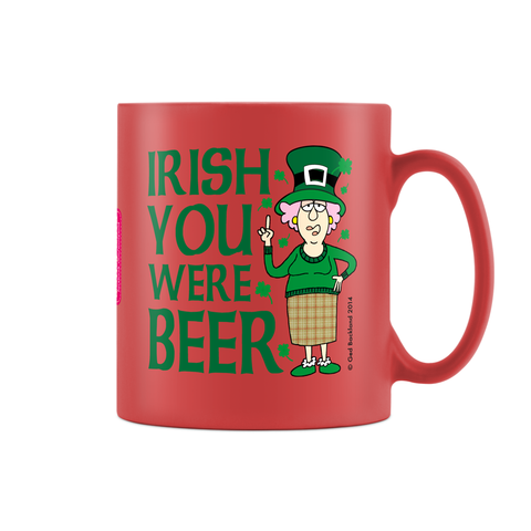 Aunty Acid Irish Coffee Red Satin Mug