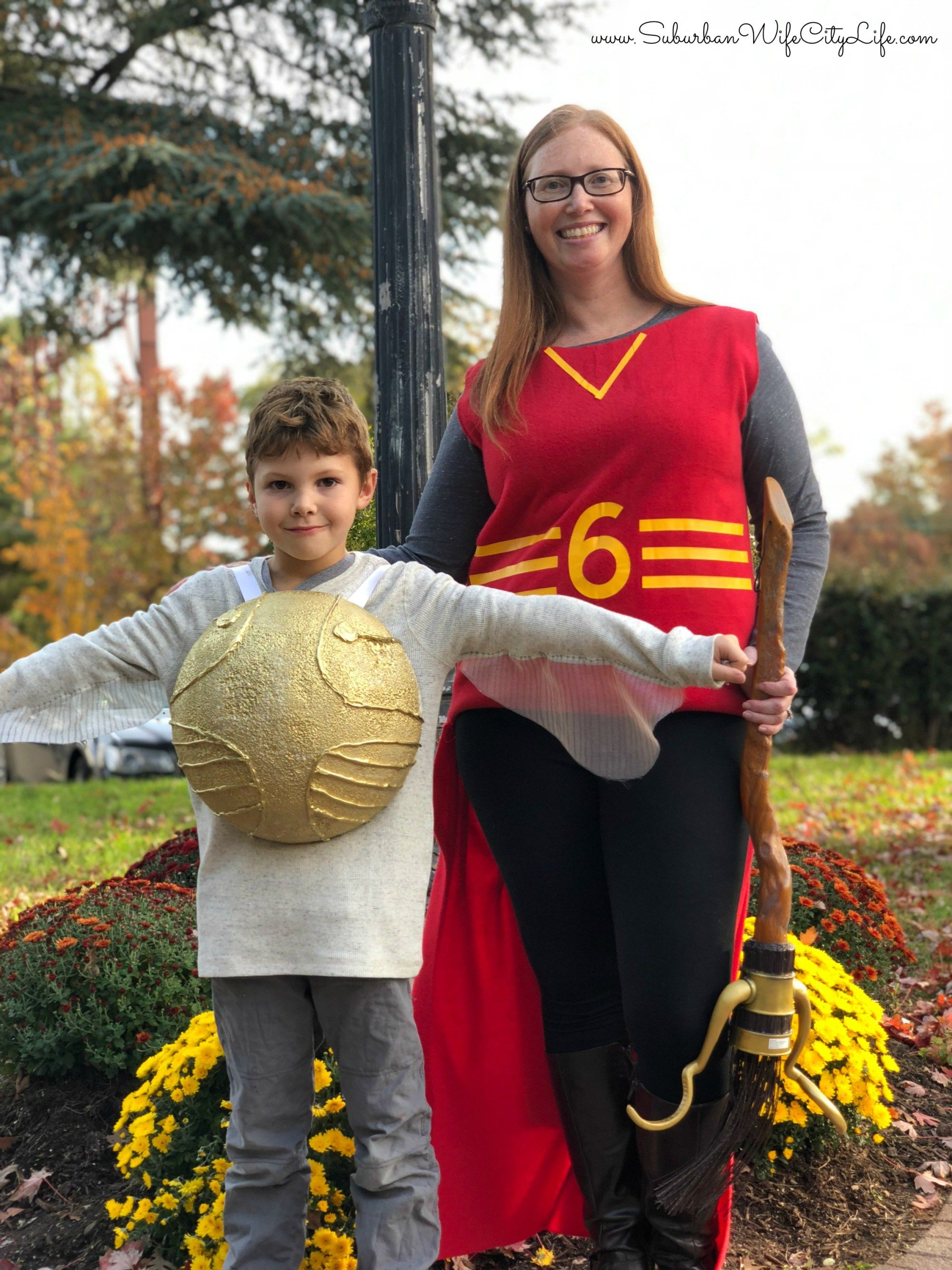 Harry Potter and the Golden Snitch | Halloween costume ... |Diy Golden Snitch Costume