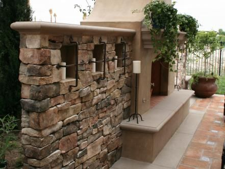 Beautiful Outdoor Fireplaces And Fire Pits Wrought Iron Yards And