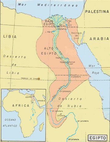 Mapa De Egipto Antiguo.Mapa Antiguo Egipto Egipto Egipto Antiguo Y Historia De