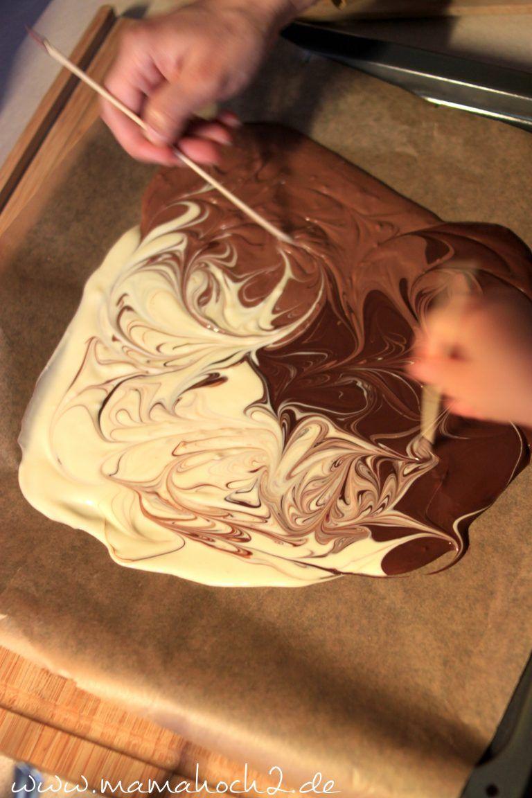 Schokolade selber machen- süße Geschenkidee ⋆ Mamahoch2 #weihnachtsgeschenkeselbermachen