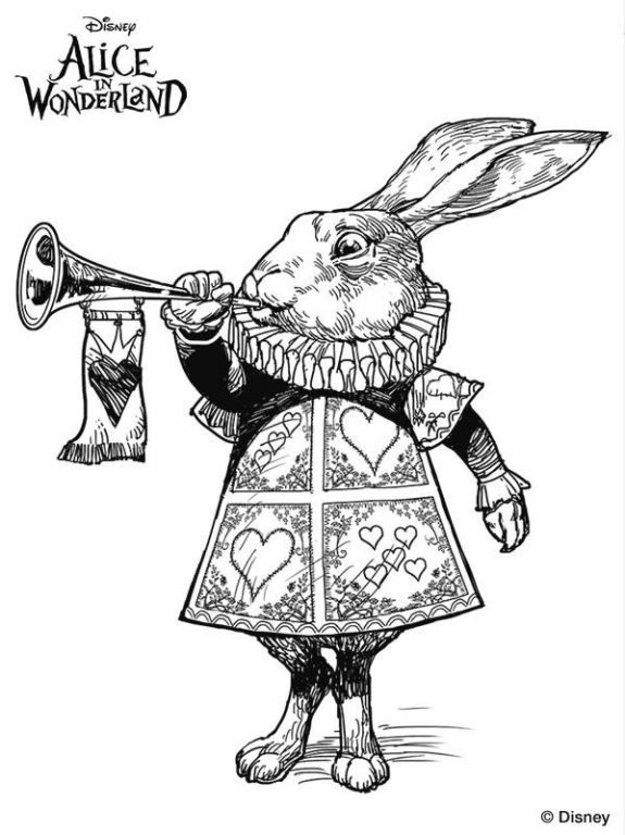 11 Coloring Pages Of Alice In Wonderland Tim Burton On Kids N Funcouk Fun You Will Always Find The Best First