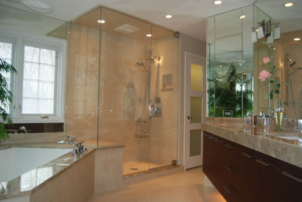 Glass-Enclosed Showers | Bathroom Remodeling: Considerations for a ...