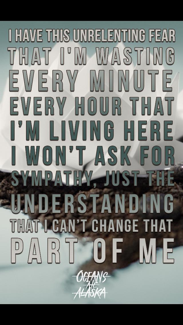 Lyric remove lyrics from song : Oceans Ate Alaska - Covert | Oceans Ate Alaska | Pinterest ...