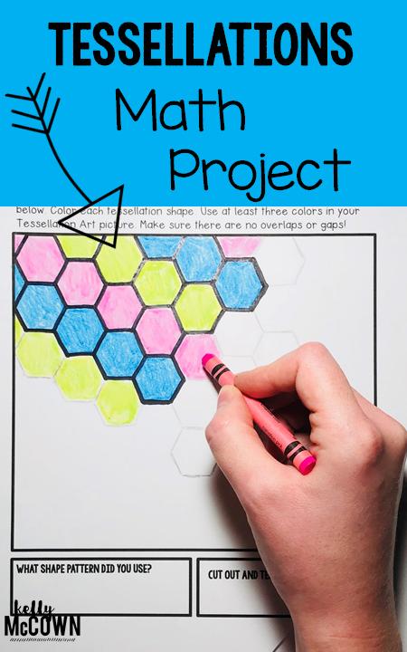 Upper Elementary Math Art Project. No Prep, Print and Go. Grades 3 ...
