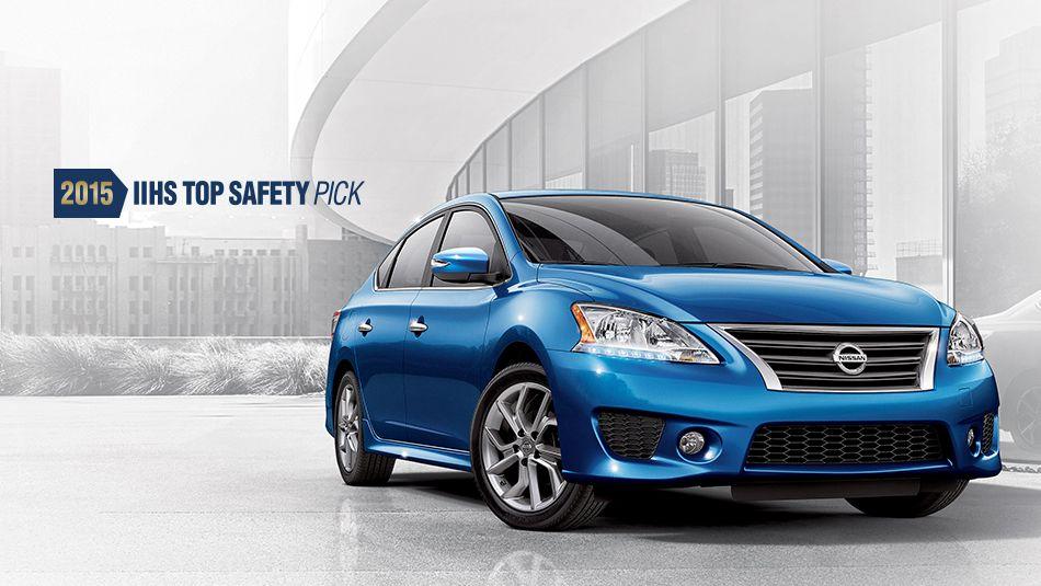 Nissan Sentra 2015 IIHS Top Safety Pick Nissan sentra