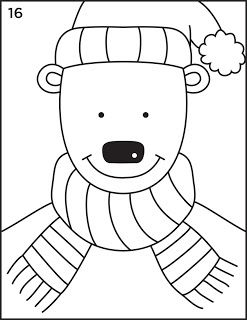 Art Projects For Kids Winter Bear Step By Step How 2 Draw On The Website Winter Art Projects Toddler Art Projects Kids Art Projects