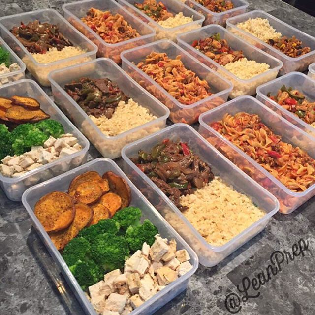 Prepped by @leanprep - Need custom meal prep? Check them out for ideas and meal prep delivery in their area!