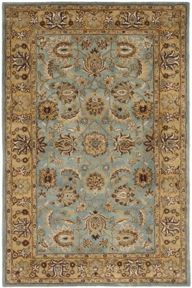 safavieh heritage hg958 blue gold a area rugs in master