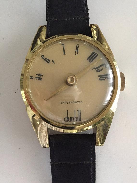 Dunhill Novelty Wristwatch Radio Watch Vintage Radio Am Etsy Vintage Watches Vintage Radio Transistor Radio
