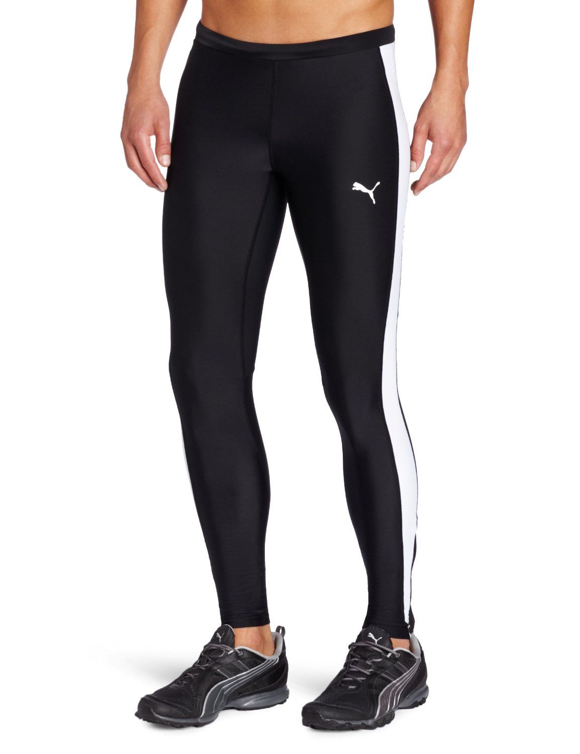 264e1ffcfbb3a Amazon.com: Puma Mens Tb Running Long Tight: Sports & Outdoors ...