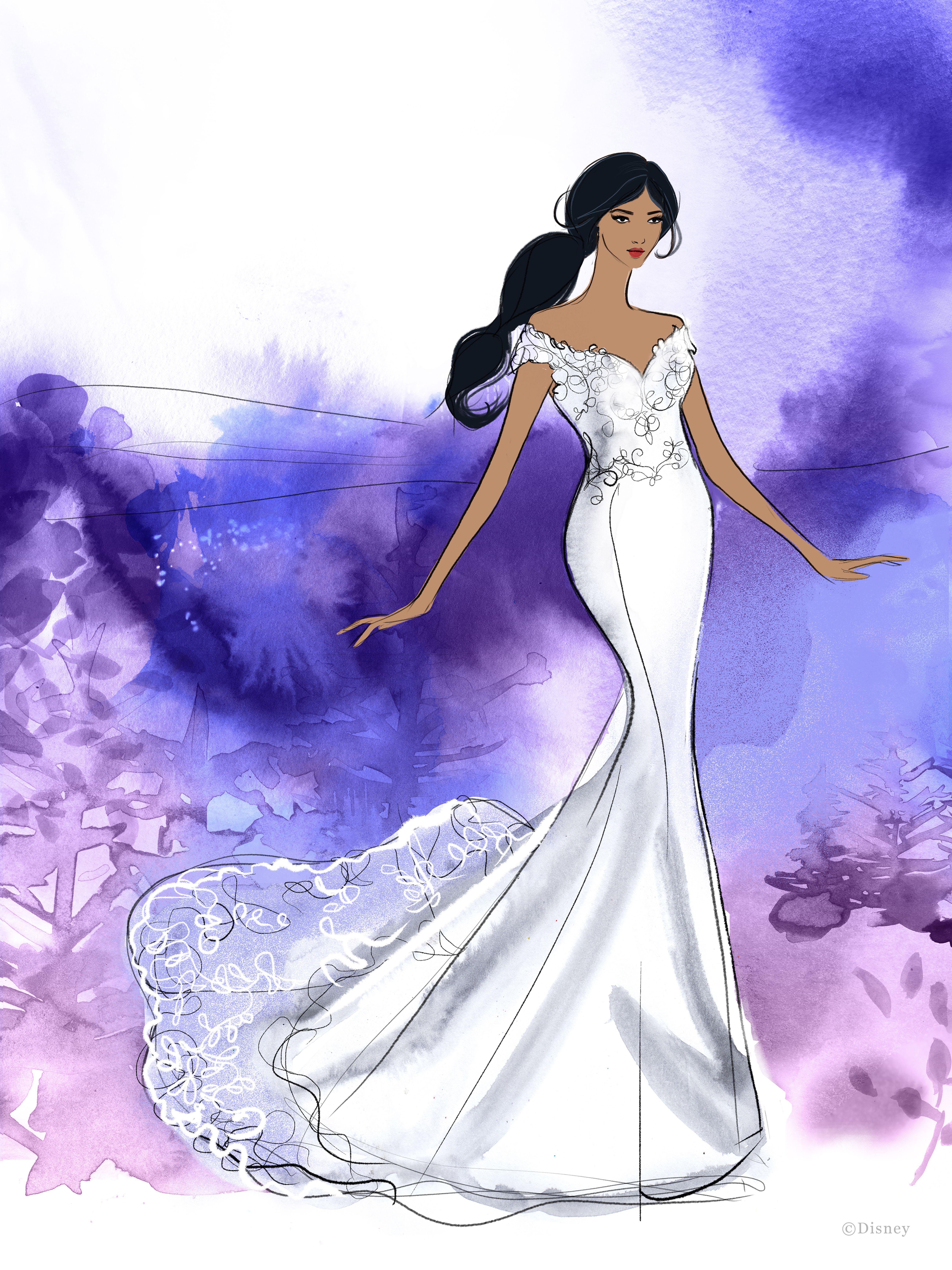 Jasmine Disney Fairy Tale Weddings Collection At Ellie S Bridal Boutique Alexa Disney Princess Wedding Dresses Jasmine Wedding Dress Disney Princess Wedding [ 6933 x 5200 Pixel ]