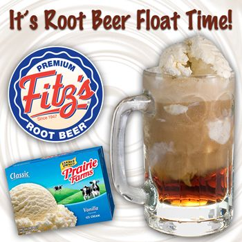 Three Hometown Favorities - Schnucks/Prairie Farms and Fitz's Rootbeer!