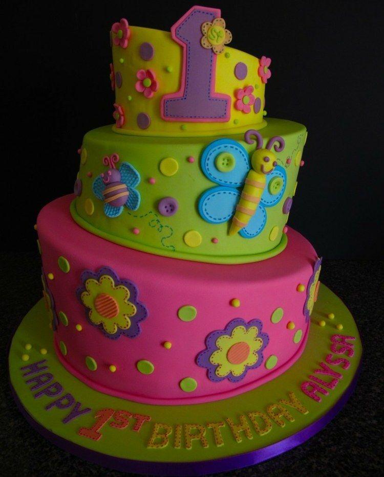Ideen Für Motivtorten   55 Kuchen Für Babys 1. Geburtstag