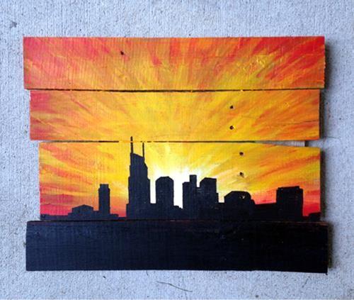 DIY Pallets Wall Art Ideas | Pallet wall art and Artist