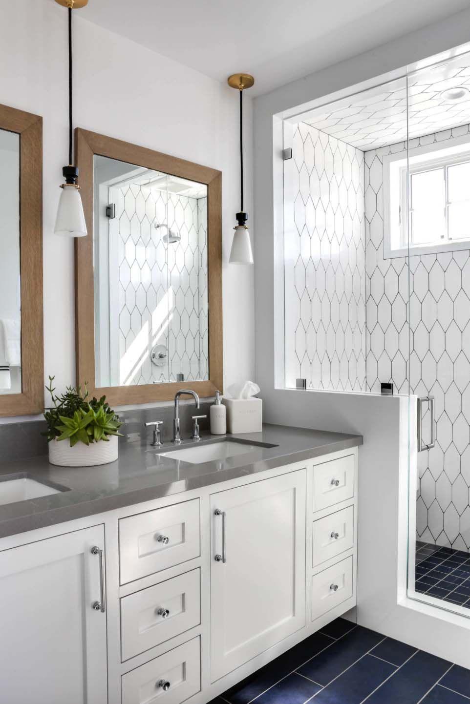 Wonderful Urban Farmhouse Master Bathroom Remodel (45) | Urban ...