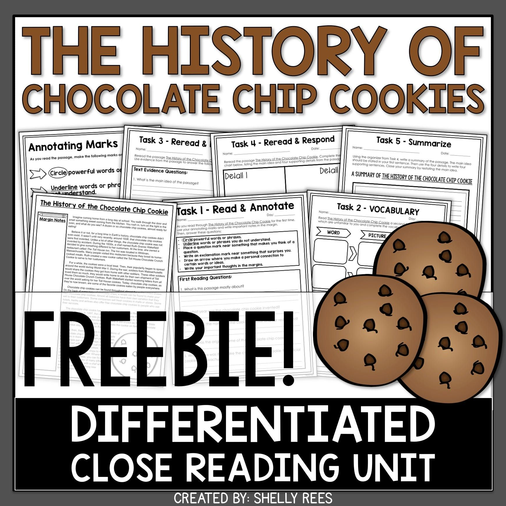 Get Your Free Close Reading Passage And Worksheets Today