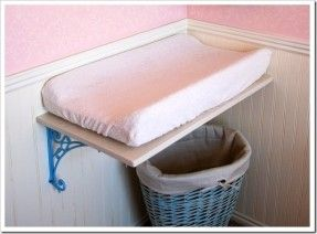 Diy Wall Mounted Changing Table Baby Changing Tables Small Baby