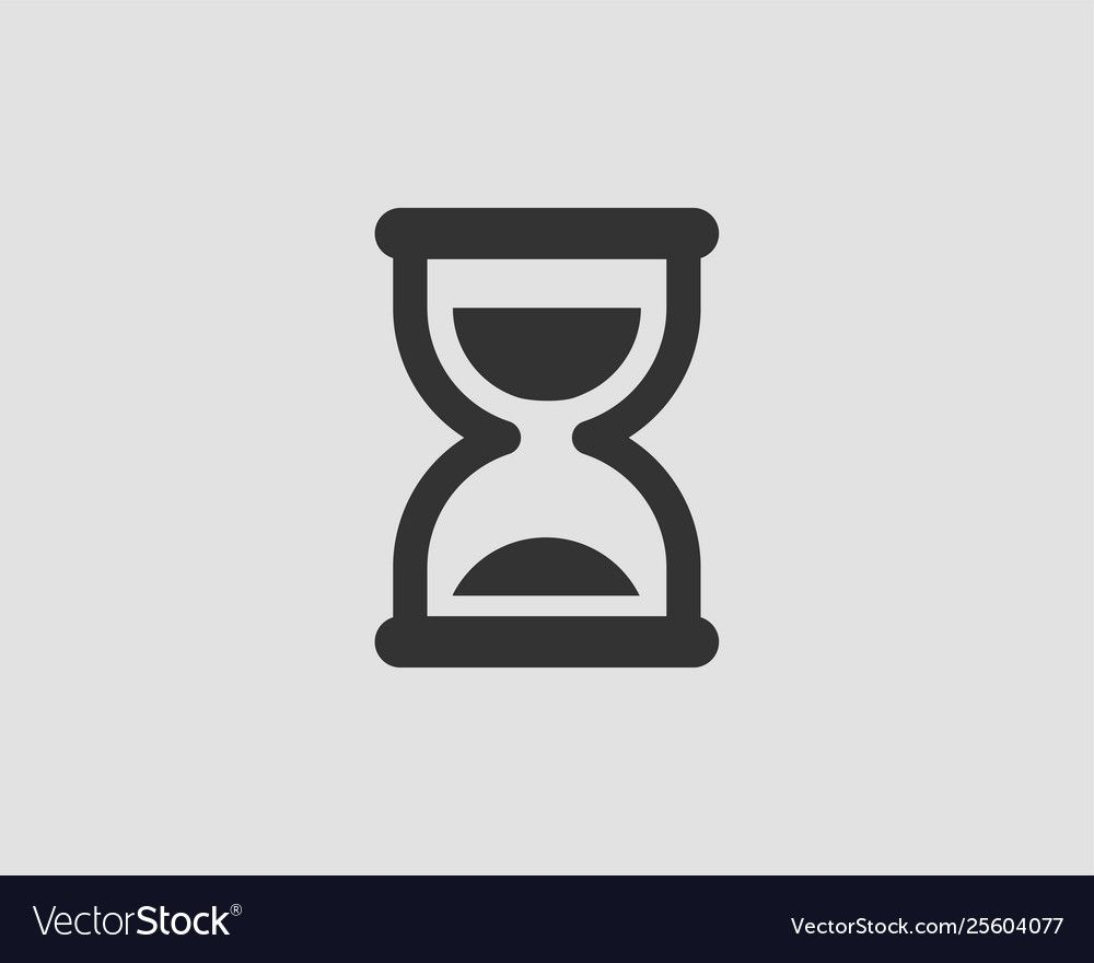 Hourglass Icon Flat Design Sand Glass Time Vector Image Ad Flat Design Hourglass Icon Ad Interactive Design Vector Free Sand Glass