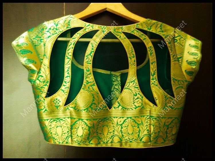 20+ Blouse Designs For Silk Sarees [2019] | Best Picks