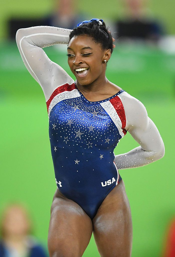 b0b8bf0e9574 Team USA 2016 summer Olympic Gymnastic leotard by GK Elite for Under ...