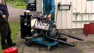 Startup Ford Flathead 265cui Isky 400, via YouTube  | Flat head V8's
