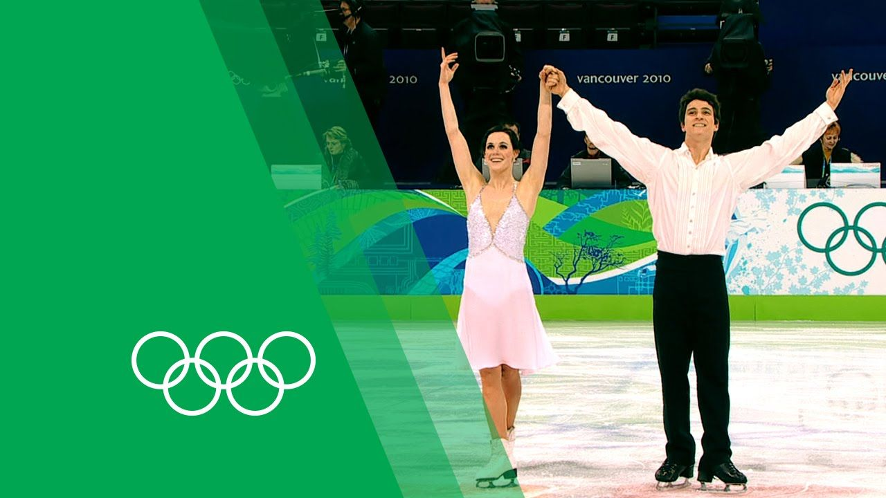 Tessa Virtue & Scott Moir relive their Vancouver 2010 Ice Dancing gold |...
