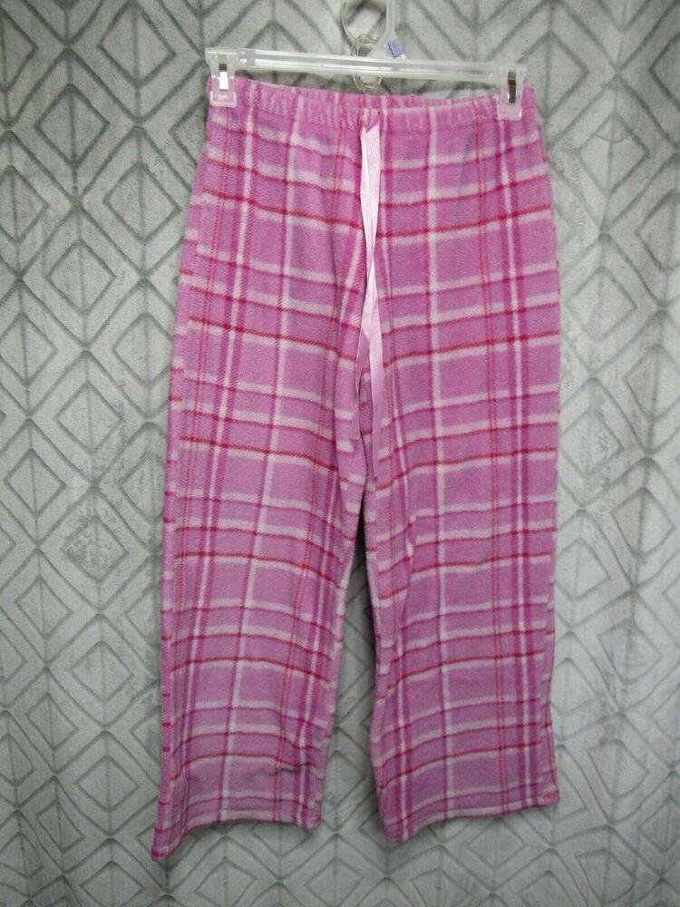 c9e29dfbcfc Unbranded Pajama Pants Size S Pink Fleece Elastic Waist Drawstring Ribbon  Sleep  Unbranded  Pants