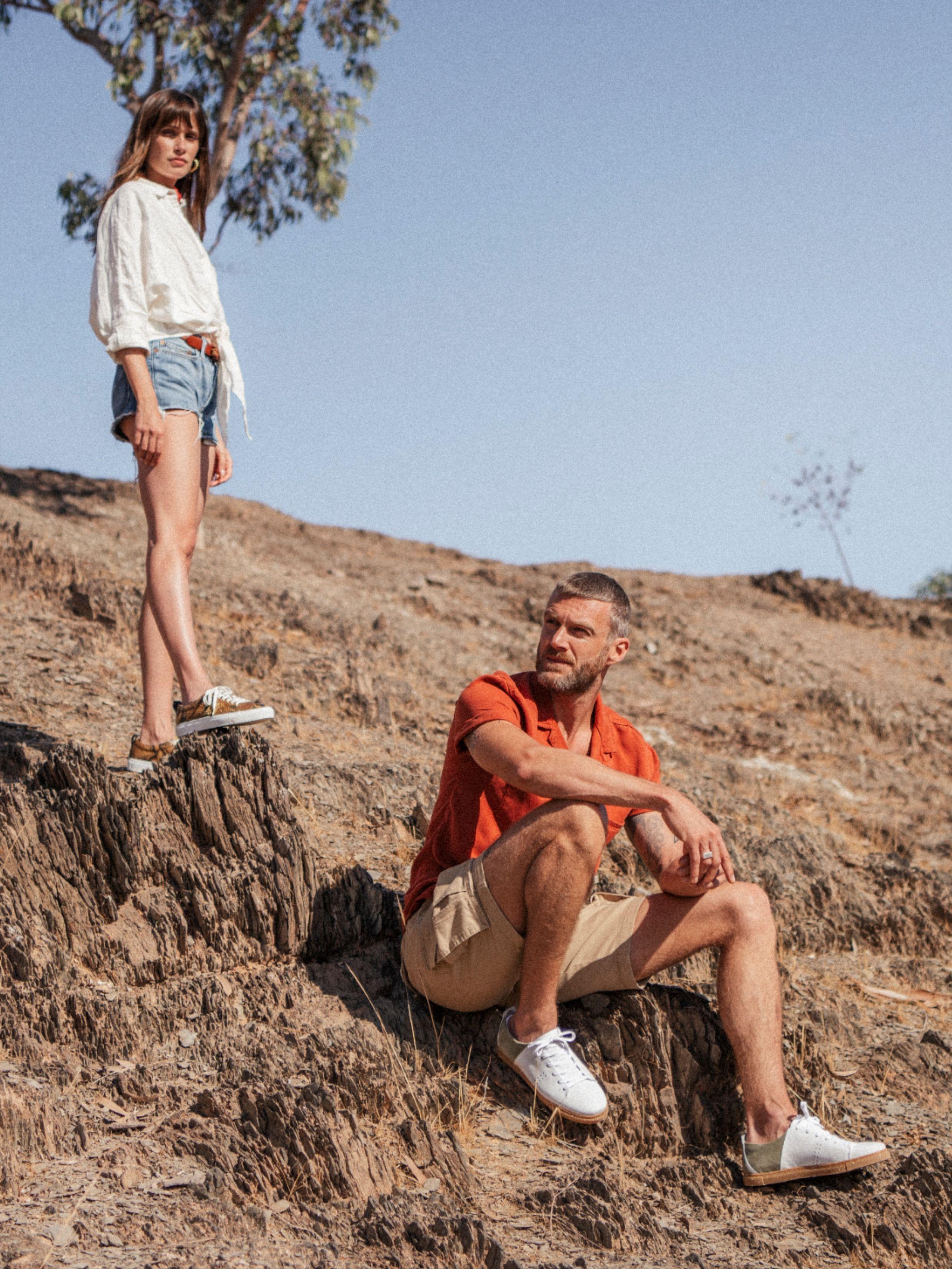 Découvrez notre collection Printemps - Été 2020 #tendances2020 #couple #marqueparisienne #frenchbrand #french #sneakers #vintage #paris #inspiration #travel #short #lookbasketsshort #boheme #inspiration #casual #basketsblanches #baskets #couple #desert #maroc #outfitideas