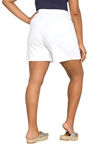 6178264777a Roamans Women s Plus Size Soft Knit Shorts  trends  clothing  fashion   america
