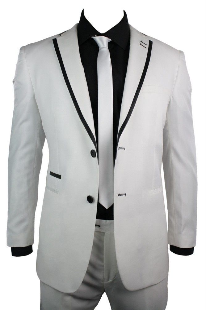 Tailored Fit High quality 2 Button formal suit comes with a ...