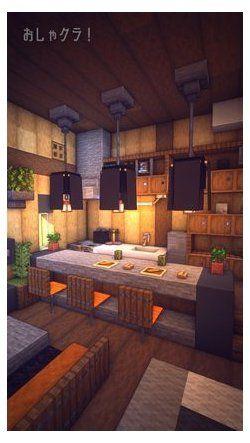 minecraft furniture interior design kitchen