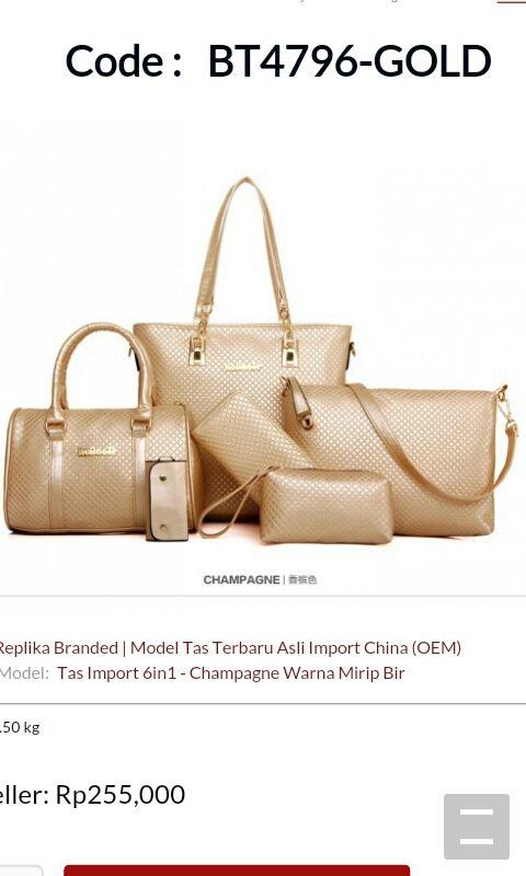 Dimana Harga Tas yang bisa untuk Reseller Cari Harga Tas wanita Murah dan  Terbaru Replika Branded de60080028
