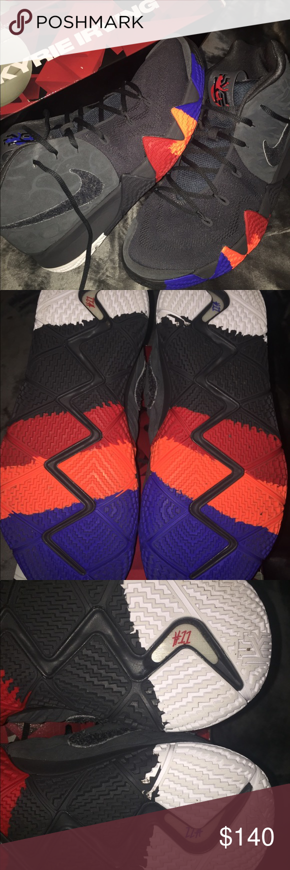 the latest dfc62 9fc18 Nike / Kyrie 4 Year of the Monkey Nike - Kyrie Irving's ...