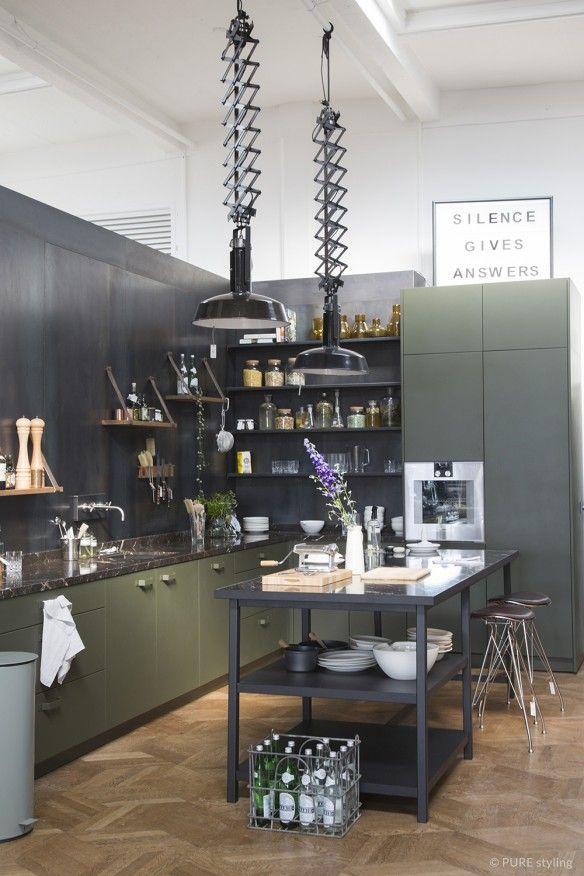 Epingle Par Sophie Rapary Sur Haus En 2020 Cuisine Loft Interieur De Cuisine Cuisines Deco