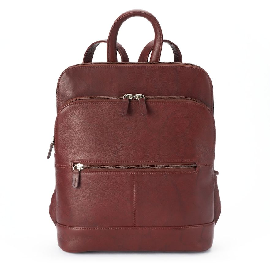 price remains stable classic special selection of Ili ili Adjustable Strap Leather Backpack   Products ...