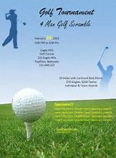 image result for golf tournament flyer template microsoft word
