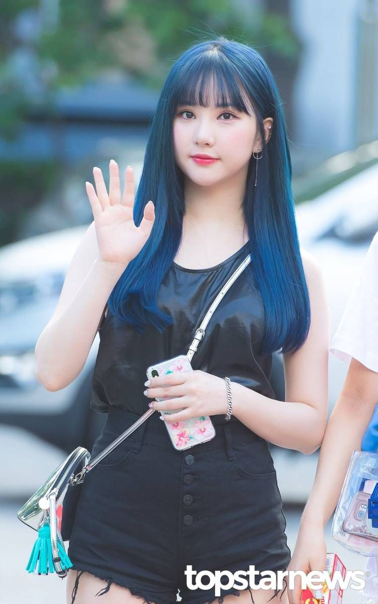 180720 Gfriend Eunha On The Way To Music Bank Eunha Gfriend Kpop Girls Cute Photos