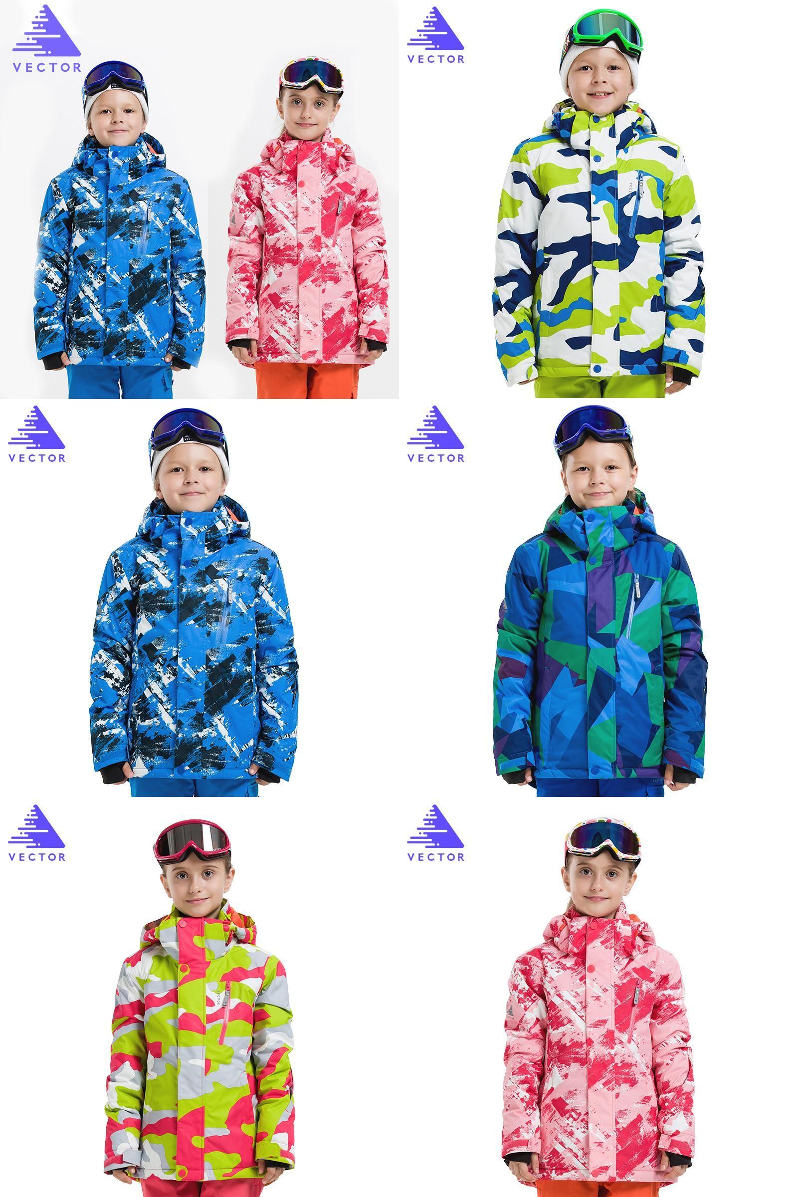 60ebeb860 Visit to Buy  VECTOR Professional Child Ski Jackets Winter Warm ...