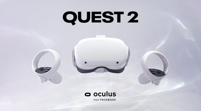 Facebook Introduces Oculus Quest 2 Vr And Announces Teaming Up With Ray Ban To Develop New Smart Glasses In 2020 Smart Glasses Oculus Vr Headset